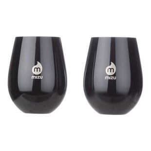 Mizu Wine Cup Set Cup - Glossy Black