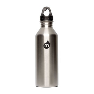 Mizu M8 w Loop Cap Water Bottle - Stainless Black Print