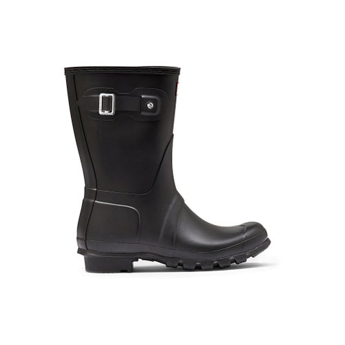 Hunter Original Short Ladies Wellies - Black