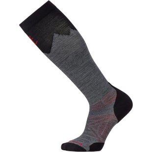 Smartwool PhD Outdoor Mountaineer Hiking Socks - Medium Grey