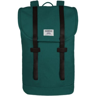 Sandqvist Stig Backpack - Petrol Blue