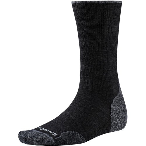 Smartwool PhD Outdoor Light Crew Hiking Socks - Charcoal