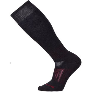 Smartwool PhD Outdoor Heavy Over The Calf Hiking Socks - Black