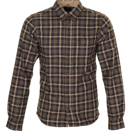 Fjallraven Stig Flannel Shirt - Black