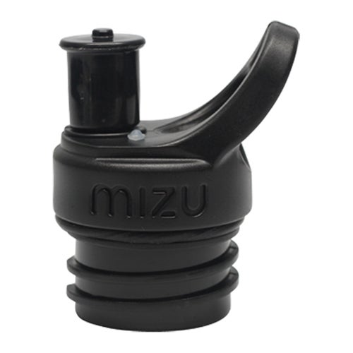 Mizu Sports Cap for M and V Series Water Bottle - Black