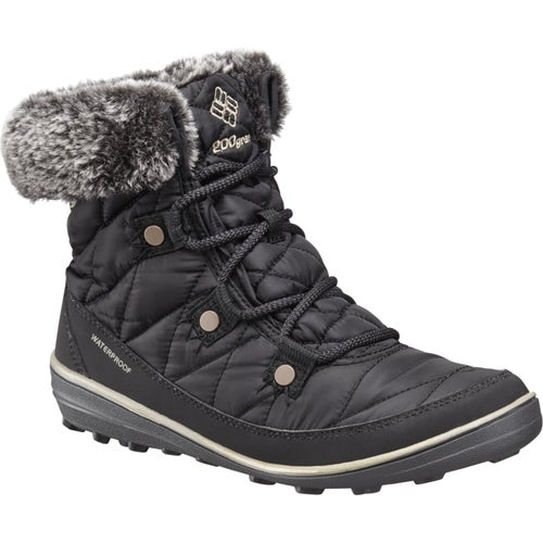 Columbia Heavenly Shorty Omni Heat Ladies Boots - Black Kettle