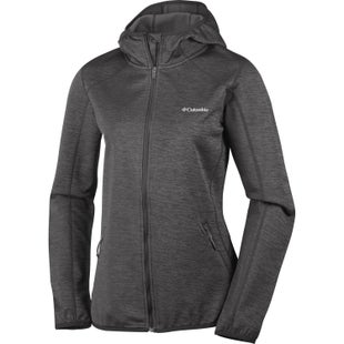 Columbia Sapphire Trail Hooded Ladies Fleece - Black