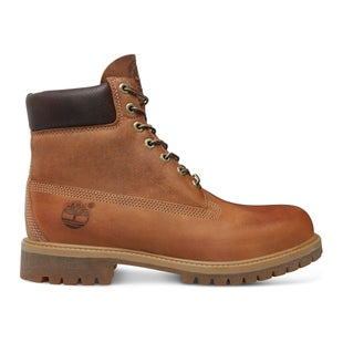 Timberland Heritage Classic 6 Inch Premium Waterproof Boots - Burnt Orange Brown