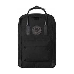 Fjallraven Kanken No 2 Laptop 15 Black Backpack - Black