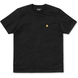 Carhartt Chase T Shirt - Black Gold
