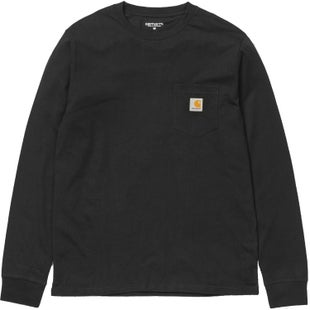 Carhartt Pocket LS T-Shirt - Black