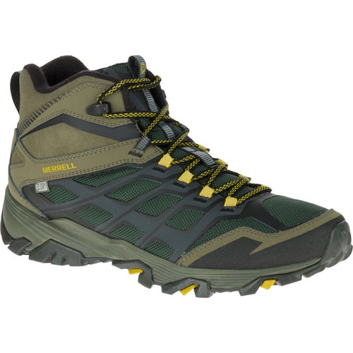 Merrell Moab FST Ice Plus Thermo Hiking Shoes - Pine Grove Dusty Olive
