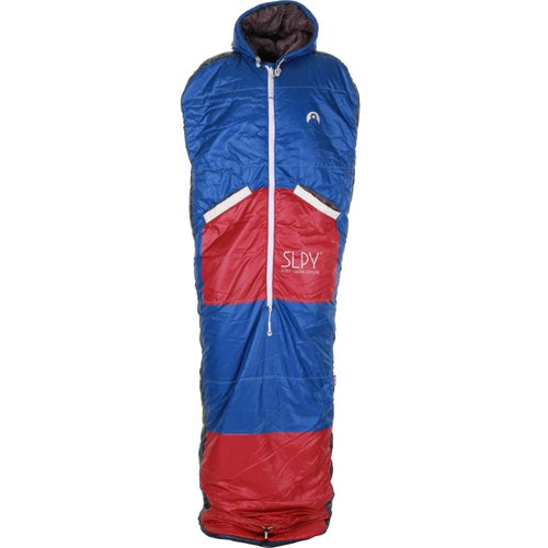 SLPY The NEW Wearable Sleeping Bag Sleepy - Red on Blue