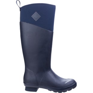 Muck Boots Tremont Matte Tall Ladies Wellies - Total Eclipse Charcoal