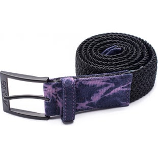 Arcade Belts The Hudson Web Belt - Acid Black Purple