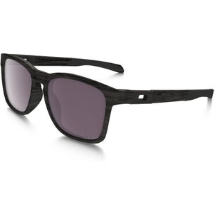 Oakley Catalyst Polarised Sunglasses - Woodgrain ~ Prizm Daily