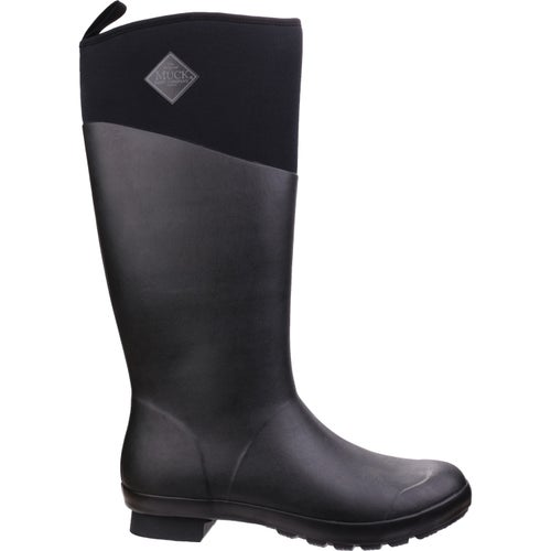 Muck Boots Tremont Matte Tall Ladies Wellies - Black Black