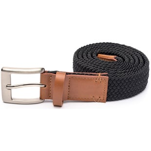 Arcade Belts The Hudson Slim Web Belt - Black