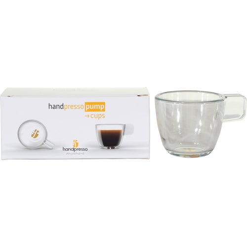 Handpresso Two Unbreakable Coffee Cups Camping Accessory - Black
