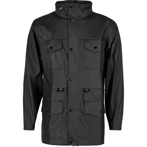Rains Four Pocket Jacket - Black