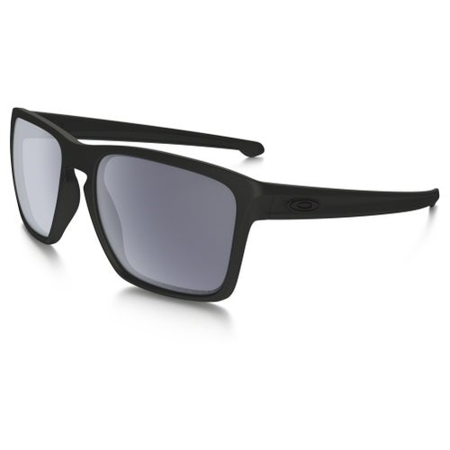 Oakley Sliver XL Polarised Sunglasses - Matte Black ~ Grey