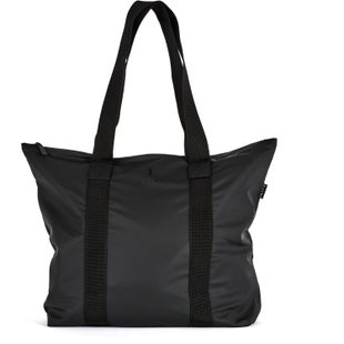 Rains Tote Rush Shopper Bag - Black