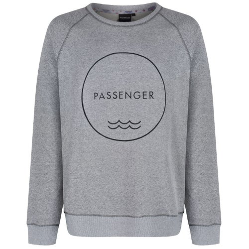 Passenger Clothing Road Tripper Sweater - Grey Salt And Pepper Marl