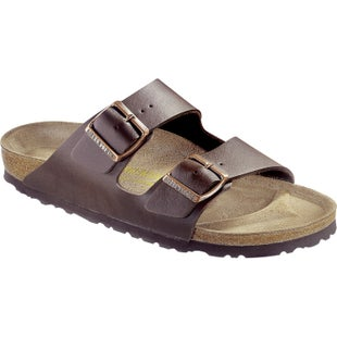 Birkenstock Arizona Birko Flor Sandals - Dark Brown