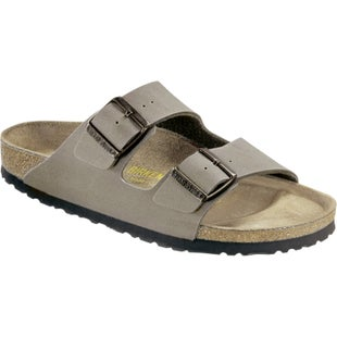 Birkenstock Arizona Birko Flor Graceful Ladies Sandals - Stone
