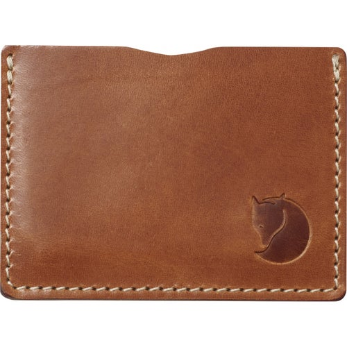 Fjallraven Ovik Card Wallet - Leather Cognac