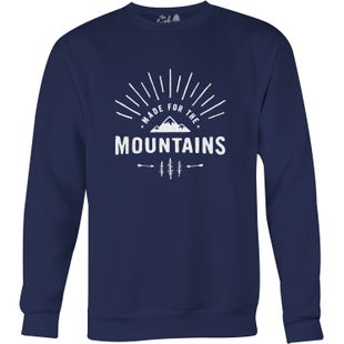 The Level Collective Made For The Mountains Sweater - Navy