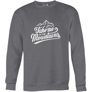 The Level Collective Take Me To The Mountains Sweater - Slate