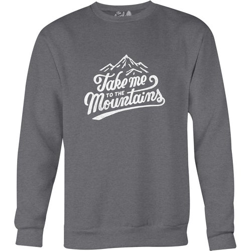The Level Collective Take Me To The Mountains Sweater