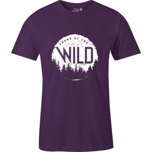 The Level Collective Sound Of The Wild T Shirt - Grape