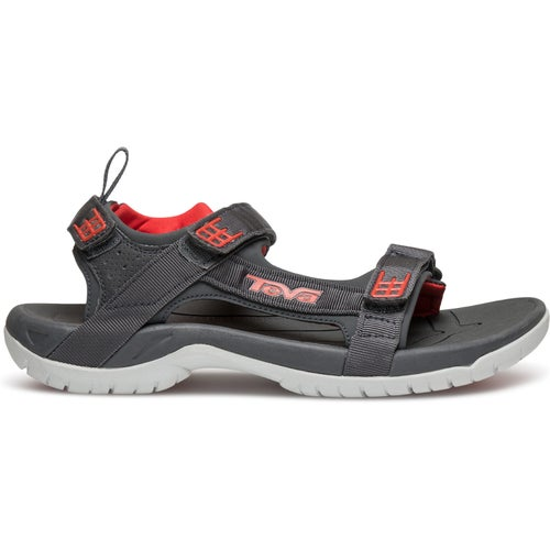 Teva Tanza Sandals - Dark Shadow Red
