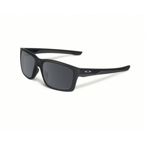 Oakley Mainlink Polarised Sunglasses - Matte Black ~ Black Iridium