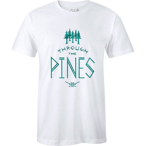 The Level Collective Through the Pines T Shirt - White