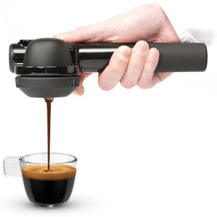 Handpresso Pump for Ground Coffee Cook System - Black