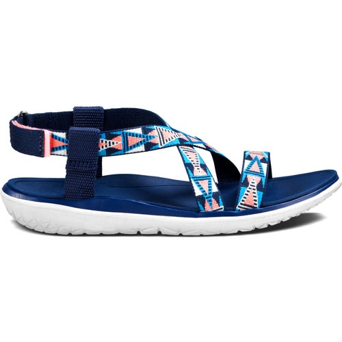 Teva Terra Float Livia Ladies Sandals - Pink Blue