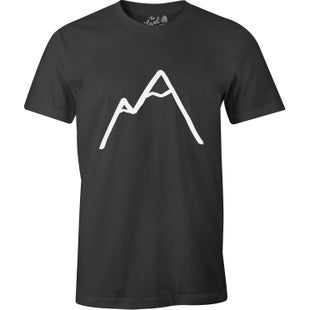 The Level Collective Simple Mountain T Shirt - Charcoal