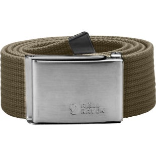 Fjallraven Canvas Web Belt - Taupe