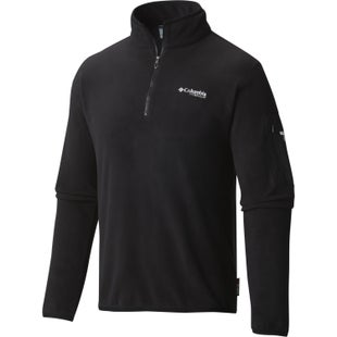 Columbia Titan Pass 1.0 Half Zip Fleece - Black