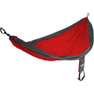 ENO Single Nest Hammock - Red Charcoal