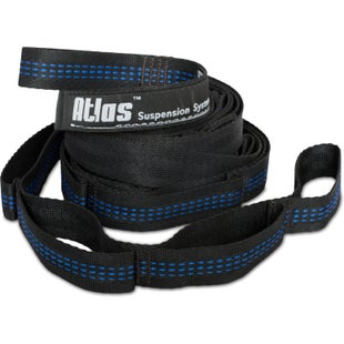 ENO Atlas Suspension System for Hammock - Black Blue