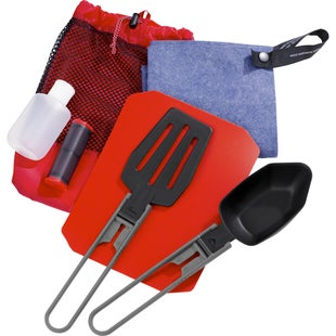 MSR Ultralight Kitchen Set Camping Accessory - Black Red
