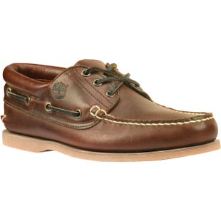 Timberland Icon Classic 3 Eye Padded Boat Shoes - Brown