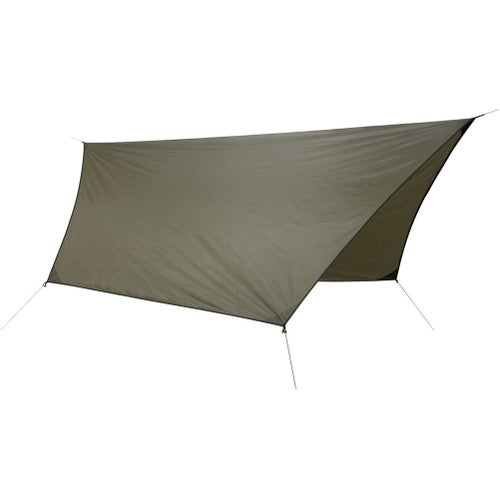 Hennessy Hex Rainfly 70D Polyester for Hammock - Coyote Brown