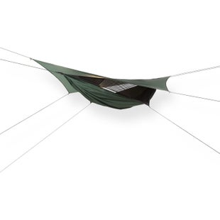 Hennessy Expedition Asym Zip Hammock - Hunter Green