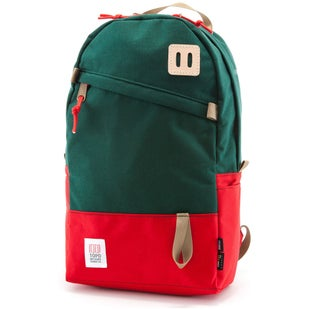 Topo Designs Daypack Backpack - Forest Red