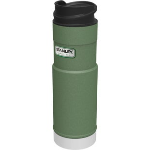 Stanley Classic One Hand 470ml Vacuum Cup - Hammertone Green